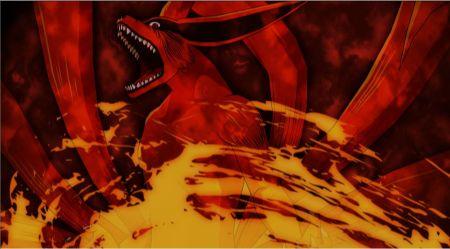 寻求火影忍者九尾和十尾的彩色图片图片