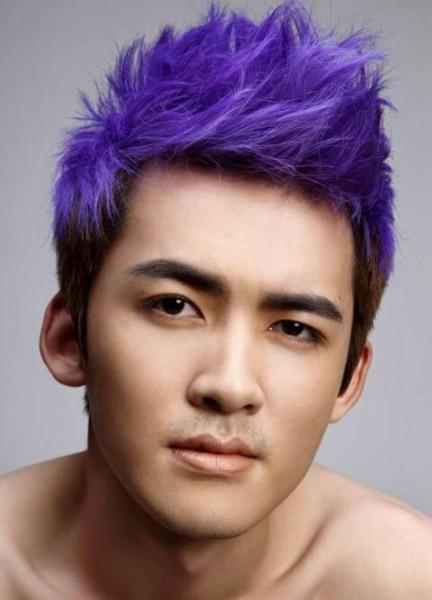 男青少年现在时兴什么发型图片
