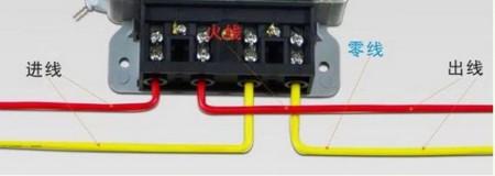 单相电度表,火线1进2出,零线3进4出,如零线3进直接接到4出线端上,电