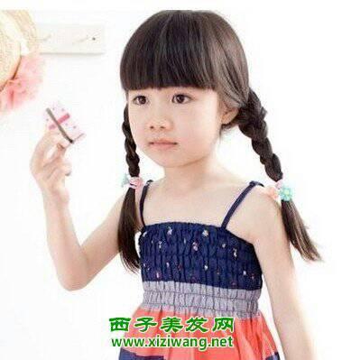 儿童发型图图片