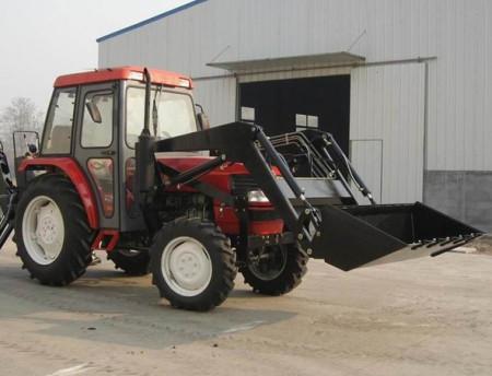 拖拉机 改装 铲车 推雪车 钩机.图片