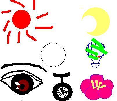 图形创意作业 图形的联想图片