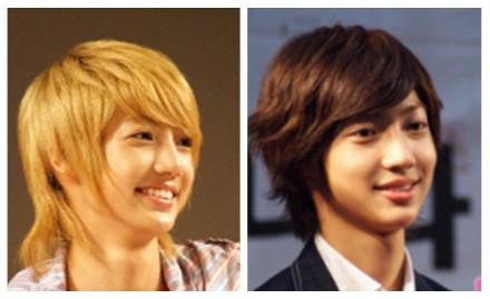赵英敏赵光敏_韩国男子团体boyfriend 中的双胞胎如何分辨他们?