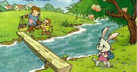 二年級看圖寫話:《動物過河》精彩選篇