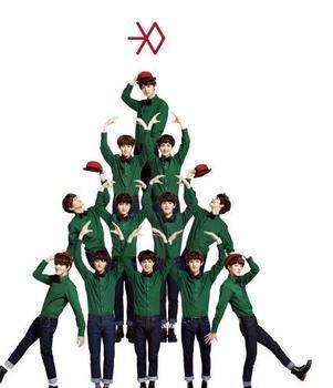 求EXO 十二月的奇迹 logo的高清大图