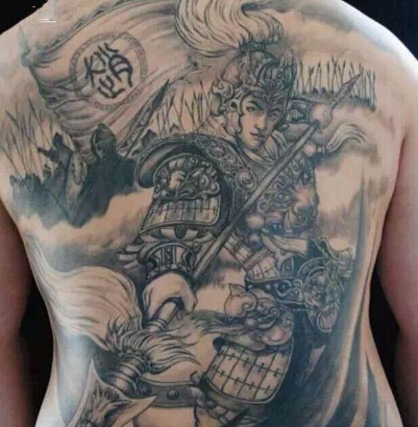 纹身图案赵子龙有什么说的