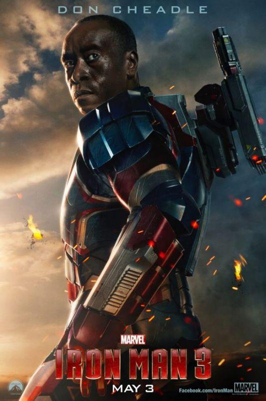 钢铁侠3的机器人的名字