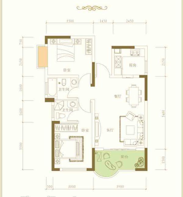 求小户房子装修设计图