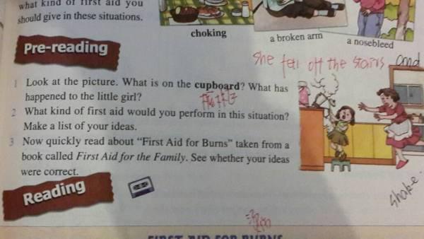 看图写话 写一篇英语小作文 求帮助