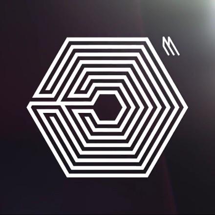 EXO新专辑logo图片 图片被我不小心删光了