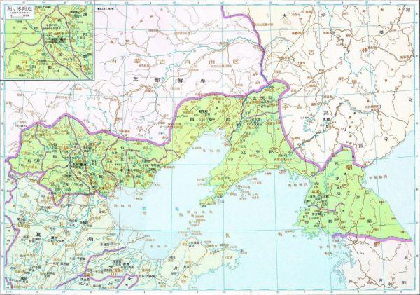 求东汉末年幽州详细地图,越详细越好,要说明州郡名称,地图边界