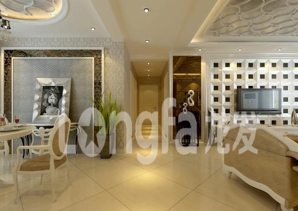 我家想装成简欧风格,现在是白门白墙,南非红木木地板图片