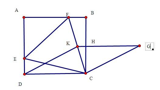 【数学】正方形内等边三角形的问题图片