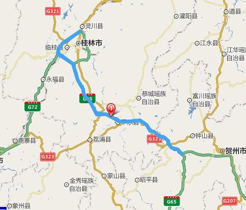 桂武高速公路线路图