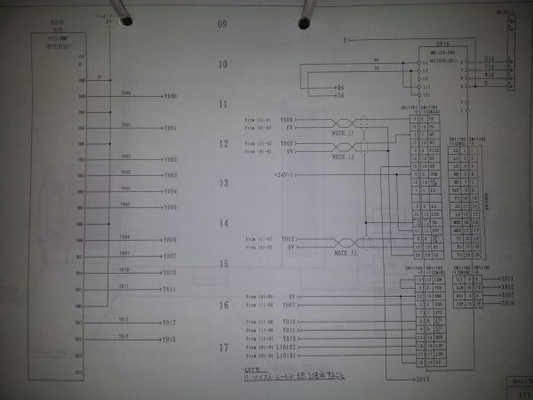 PLC与伺服驱动器接线图