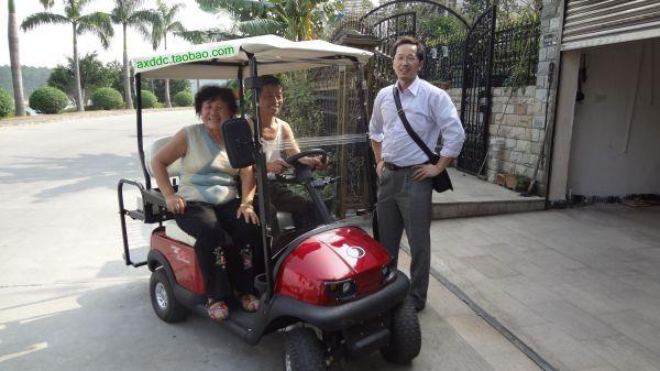 老年代步车上路有相关规定吗 高清图片