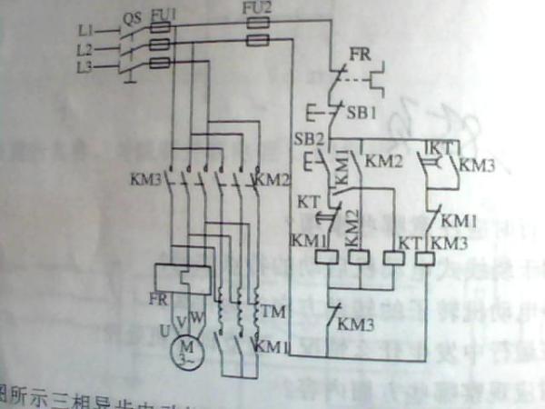 37kw电机降压启动接线图_百度知道