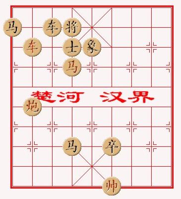 关于中国象棋的吃法,技巧图片