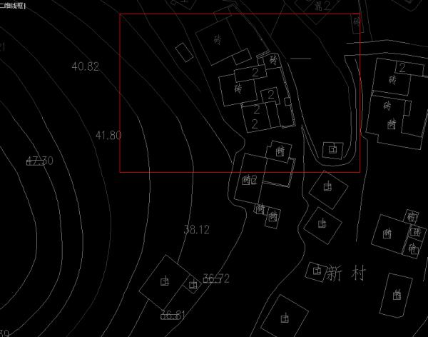 CAD中将完整的地形图不了出自己安装的2012cad想要剪裁注册机图片