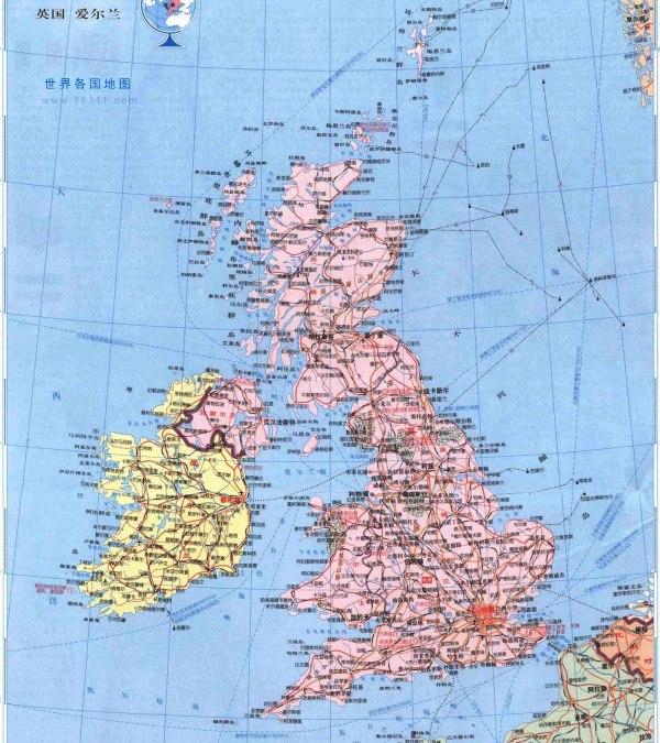 谁有英国详细的地图,包括山脉,河流,城市的百