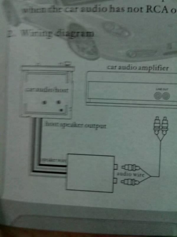 请教高手,低音炮接在汽车cd上怎么接还加了个转换器,还有汽车音响高清图片