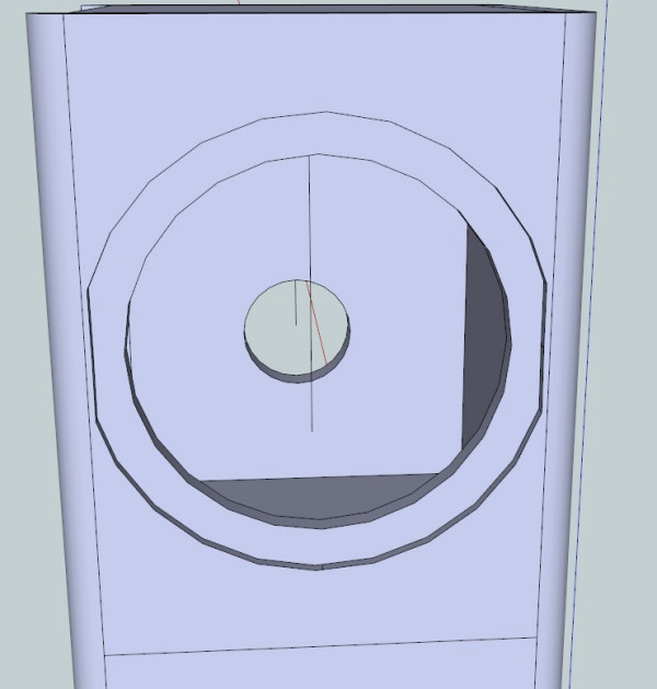 悬赏 求音箱设计图纸 已有一对8寸低音喇叭 2对3寸左右的高音喇叭图片