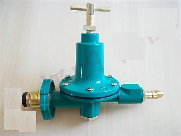 家用煤气罐的减压阀可以调吗?图片