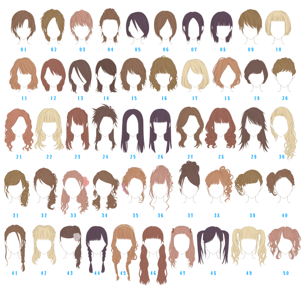 Hair Style Questions : ??pixiv???????????????