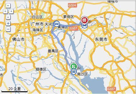 广州金洲到广州新塘怎么坐地铁图片