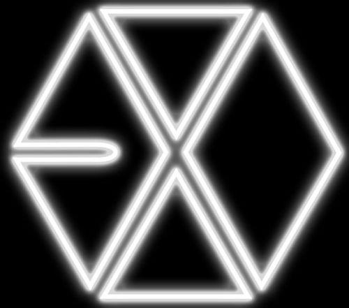 求exo的彩色logo