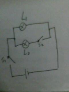 初中物理电路图