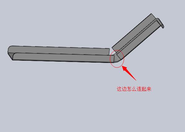 SolidWorks料槽钣金怎么画