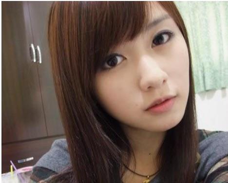 台湾网络清纯美女