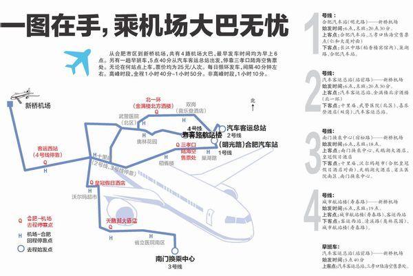 从合肥新桥国际机场怎么坐车去含山高清图片