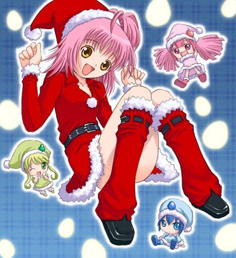 有没有 守护甜心 中的亚梦穿圣诞服装的照片图片