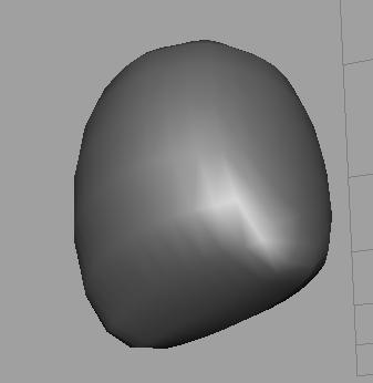 polygon圆柱体,平滑之后底面凹凸不平怎么解决图片