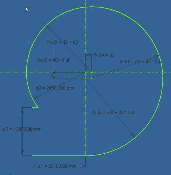 阿基米德螺旋线的画法图片