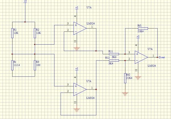 单电源直流放大电路的放大误差图片