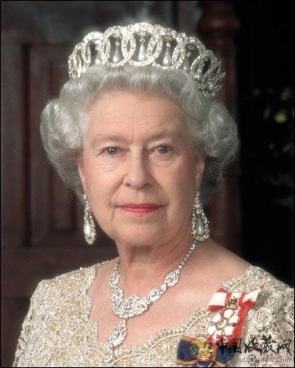 英格兰女王伊丽莎白的画像图片