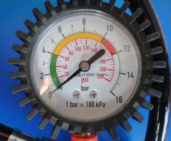 气压表给轮胎打气,比如说我想打3图片