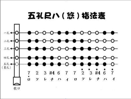 1204807158_竖笛指法_八孔竖笛的指法示意图,葫芦丝指法图片