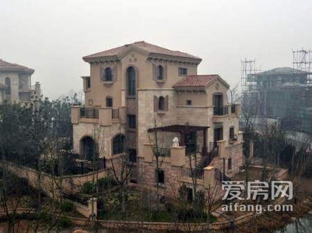 别墅外墙瓷砖效果图 高清图片