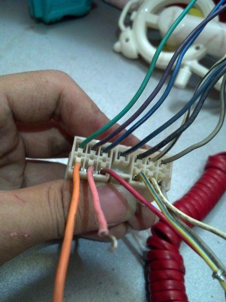 五菱之光收音机接线13根 高清图片