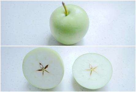 创造力来源于打破常规的思维方式,苹果横着切开就可以看见五角星形状图片