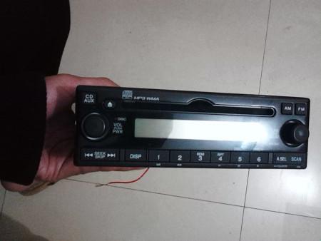 请问车载cd改装家用怎么接线 型号是honda nh167l高清图片