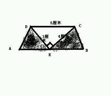 一个直角梯形,它的下底是40米,如果上底增加38米,它就图片