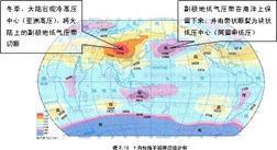 关于副热带高气压带和副极地低气压带为什么夏季副高.图片