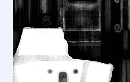 这个maya黑白材质贴图是什么高清图片