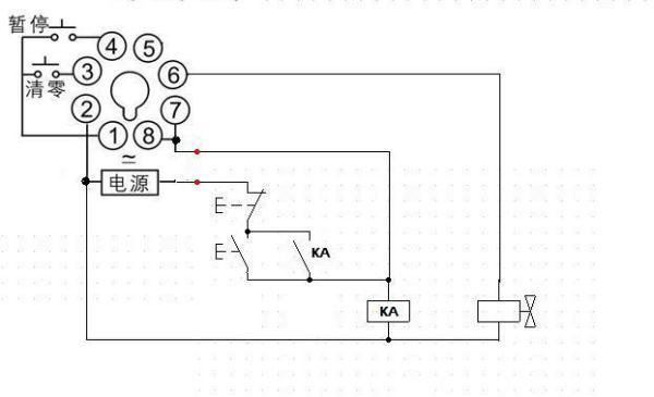 时间继电器控制水电磁阀分享展示图片