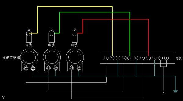 三相电流互感器符号 深圳电力变压器回收公司